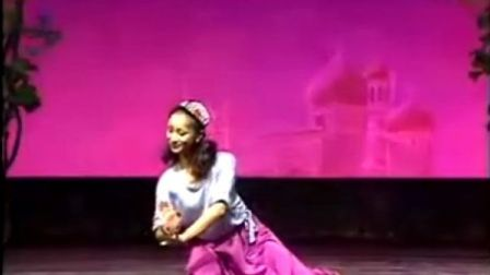 新疆舞蹈教学《组合》划手缠绕手足