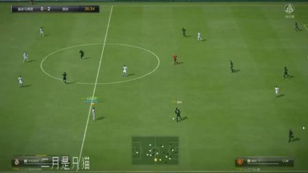 本泽马反越位成功单刀进球  劳尔禁区连入两球完成逆转