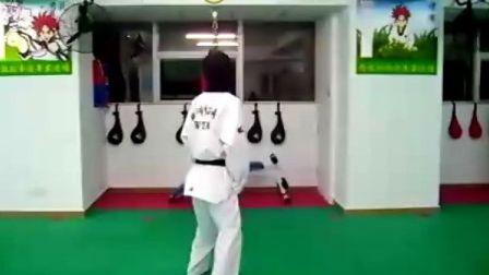 【侯韧杰 TKD 学员篇】之 跆拳道540
