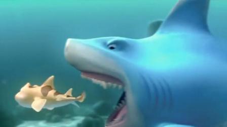 海鲜陆战队:大猪和泡泡闹着玩,可泡泡的一番话,惹怒了鲨鱼大猪