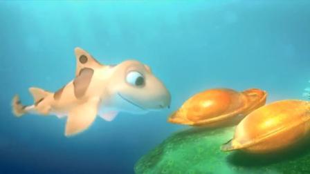 海鲜陆战队:泡泡望着即将出生鱼宝宝,一阵臭屁长大了和我一样帅