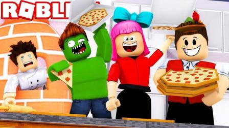 Roblox乐高小游戏小格解说 第二季 披萨店模拟器:装修豪华小别墅!卡车司机玩命快递!