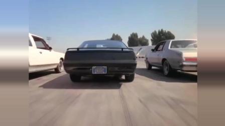 之前从未看过已经绝版的霹雳游侠视频片段, 美女看撞汽车大赛