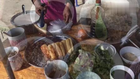 重庆塘河镇70老奶奶卖自制小吃, 做法独特精致诱人, 每样都想尝尝