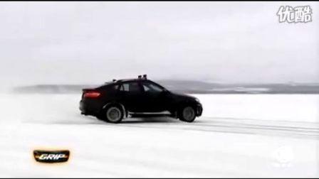 宝马x5m、x6m冬季测试