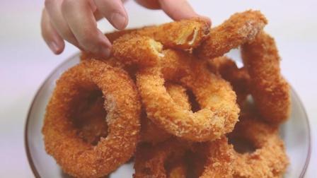 教你做爆浆芝士圈, 外酥里嫩, 咬一口满嘴香甜, 想吃还要排队!
