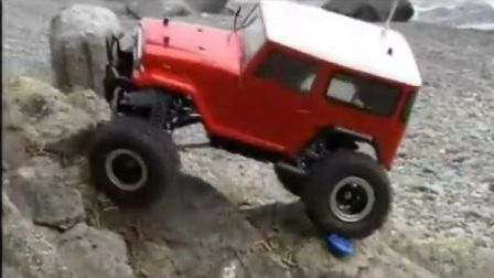 田宫 CR-01模型攀爬视频