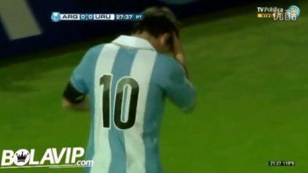 世预赛-梅西2球 阿根廷3-0乌拉圭 HD