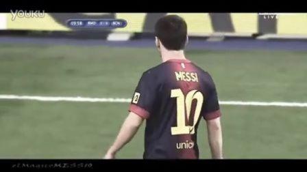 梅西2012年8月所有比赛个人进球助攻技巧精粹
