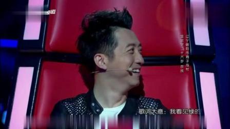 《中国好声音》刘欢一点头, 哈林瞬间转身!