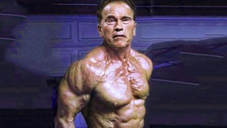 施瓦辛格71岁高龄, 手术过后重返健身房, 如此高龄依然热爱健身