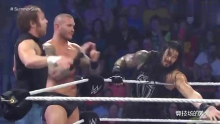 WWE太假了, 就这么轻松就举起来了? 耍我们观众呢?