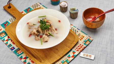 一锅清水白汤的排骨, 营养美味, 鲜嫩多汁