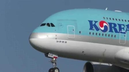 翱翔蓝天! 澳航、大韩航空和韩亚航空巨无霸空中客车A380阵容