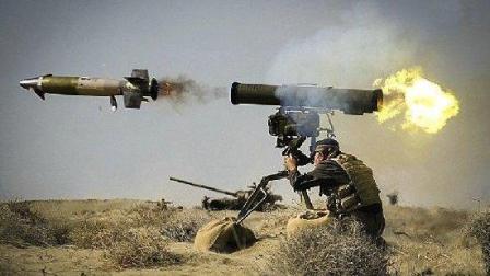 美国M1坦克塑造了战场神话, 但却抵挡不住我国这一发逆天导弹!