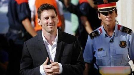 梅西因逃税被判21个月监禁