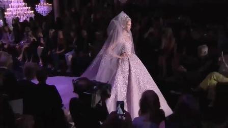 Elie Saab 2010春夏高级定制 模特穿上高定婚纱 人间的沧海遗珠