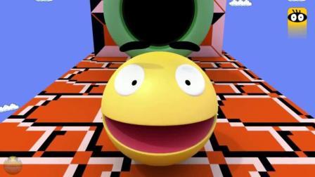 吃豆人来袭3D马里奥世界, 有这样的能力闯关还是没问题