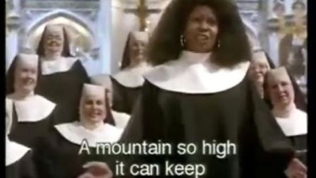《修女也疯狂》中经典演唱