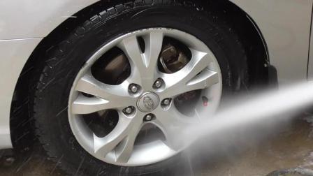 汽车轮毂发黄难看怎么办? 用这种方式清洗后既白皙又干净