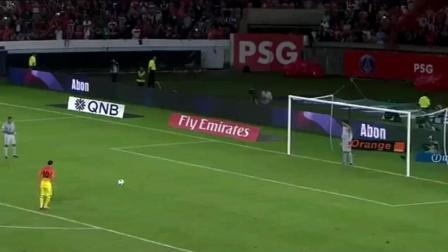 点球大战射偏, 门将弃门奔走庆祝, 5秒之后, 足球任性的弹回了球门