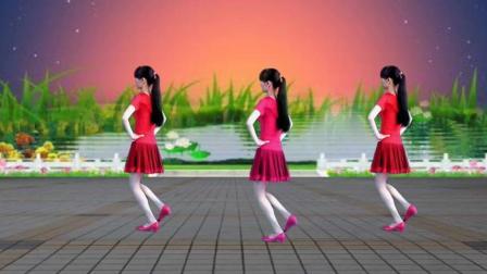 阳光溪柳广场舞《北江美》32步简单易学!