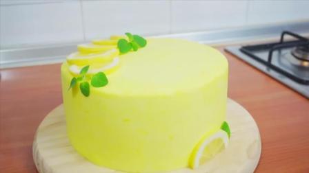 给夏天一点柠檬清香, 好吃美味的柠檬蛋糕, 配奶油芝士糖霜