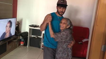 印度27岁小伙为了真爱,与91岁老太结为夫妻