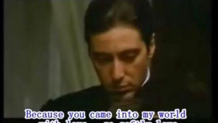 怀旧经典:《教父》主题曲speak softly love柔声倾诉--Andy Williams
