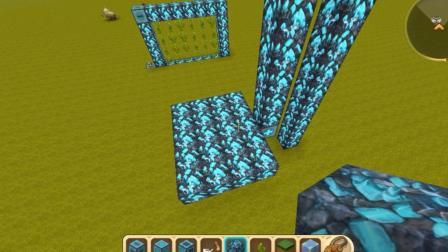 迷你世界创造模式, 会者不难, 原来做一个上下电梯这么简单!