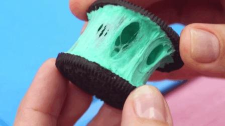 创意闺蜜恶作剧: 创意手工DIY奥利奥, 这么奇怪的颜色闺蜜敢吃吗?