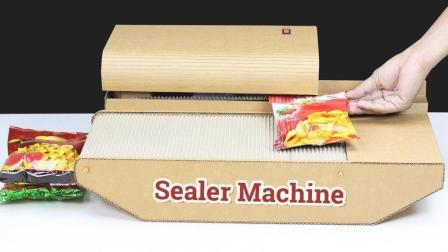吃货的想象力是我们不能理解的, 为了怕薯片返潮制作个封袋器!