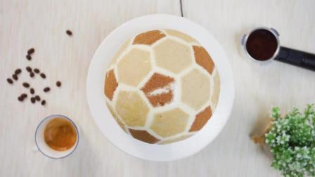 潮十八玩转世界杯 2018 世界杯 吃个足球蛋糕吧