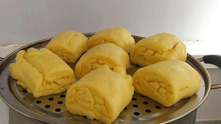 试试这样做玉米面馒头, 又香又软, 比面包都好吃, 做法超简单