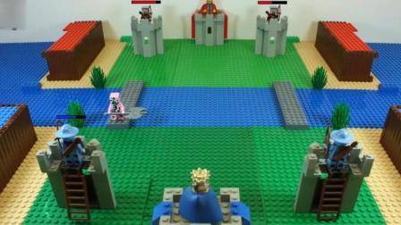 《我的世界》乐高玩具饰演皇室战争, 演员全是MC里面的怪物