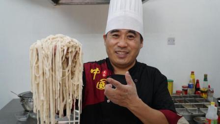 大厨教你老北京炸酱面的做法, 内有炸酱和面条配方, 真地道先珍藏