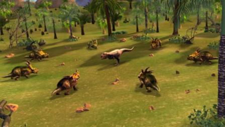 虹猫蓝兔恐龙世界 第62集 贪食者埃德蒙顿龙