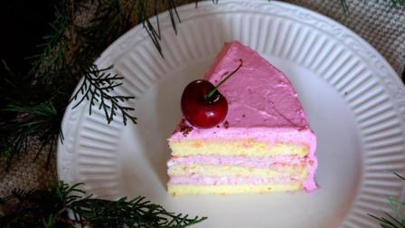我的日常料理 第一季 教你制作夏季美食甜品 树莓鲜奶油蛋糕
