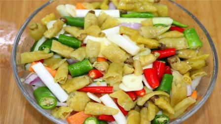 川味泡菜到底怎么做才好吃? 今天教大家滚水泡菜, 酸辣开胃很好吃