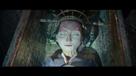 《古墓丽影》精彩部分, 打开棺椁, 周围人都呆住了