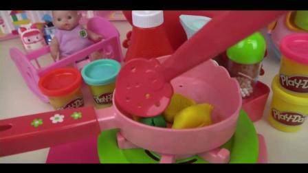 DIY水果披萨饼, 米露公主玩具