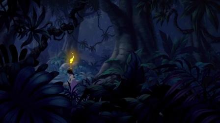 《森林王子2》为救莫格利香堤勇敢迈入丛林 坏心席尔坎心中窃喜