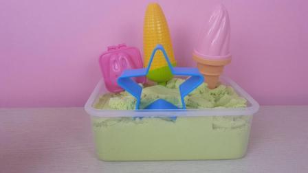 魔力沙太空沙冰淇淋甜筒冰棒