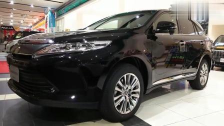 丰田harrier 全新7座SUV车型, 填补汉兰达和RAV4之间的市场空缺。