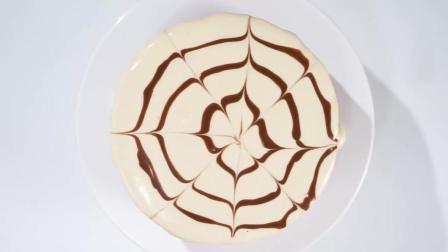 摩卡流心奶盖蛋糕