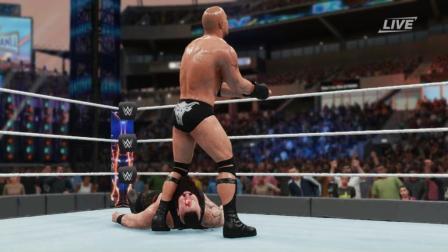 wwe2k18 原创解说 WWE2K18-22: 强森的肘击 了解一下
