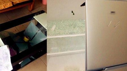 女子拒退租客押金 套房内家具被砸狼藉一片