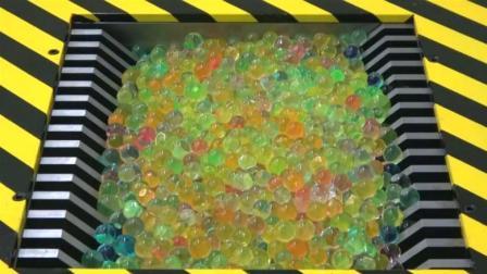 将1000个水灵的水宝宝放进粉碎机, 看完对粉碎哥一个大胆的想法!