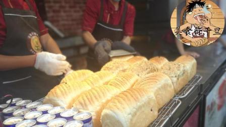 青岛台东超火的手撕面包李村也开了一家, 排队每人限购2个