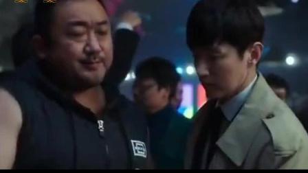 男人之间麒麟臂的较量, 一个字强, 马东锡韩国电影《冠军》